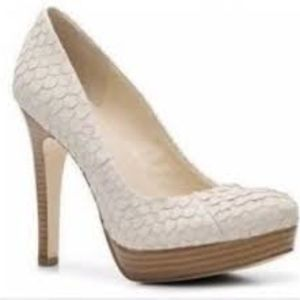 Calvin Klein sarkia snake heels 7.5